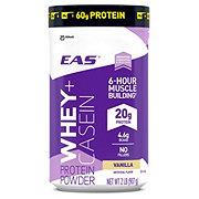 EAS Whey & Casein Protein Powder Vanilla