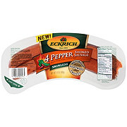 Eckrich Four Pepper Smoked Sausage Skinless