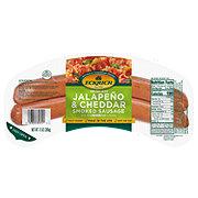 Eckrich Skinless Jalapeno & Cheddar Smoked Sausage