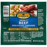 Eckrich Smok-Y Breakfast Sausage Beef Links