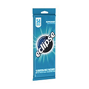 Eclipse Peppermint Sugarfree Gum, Multipack