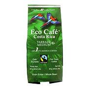 Eco Cafe Costa Rica Terrazu Medium Whole Bean Coffee