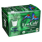 Eco Cafe Medium Organic Arabica Single Serve Coffee Cups