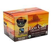 Eco Cafe Organic Dark Arabica Single Serve Coffee Cups