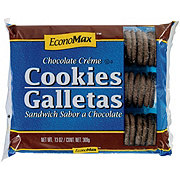 EconoMax Chocolate Creme Sandwich Cookies