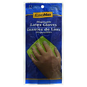 EconoMax Disposable Fits All Latex Gloves
