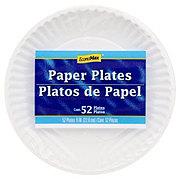 EconoMax Paper Plates, 9 inch