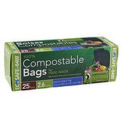 Ecosafe Compostable Food Waste Trash Bags