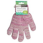EcoTools Bath & Shower Gloves, Colors May Vary