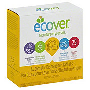 Ecover Automatic Ecological Dishwasher Tablets