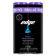 Edge Extra Moisturizing Shave Gel Twin Pack