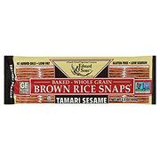 Edward & Sons Tamari Sesame Brown Rice Snaps