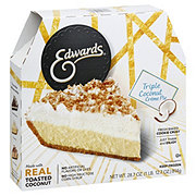 Edwards Triple Coconut Creme Pie in a Cookie Crust