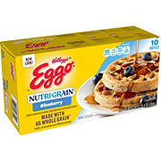 Eggo Nutri-Grain Blueberry Waffles