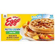 Eggo Nutrigrain Low Fat Whole Grain Waffles