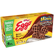 Eggo Thick & Fluffy Mini Chocolate Waffles
