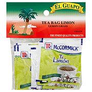 El Guapo Lemon Grass Caffeine Free Tea Bags
