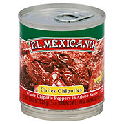 El Mexicano Chipotle Peppers in Adobo Sauce