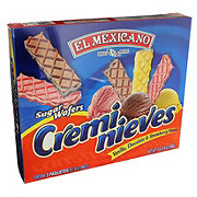 El Mexicano Cremi Nieves Sugar Wafers Variety Pack
