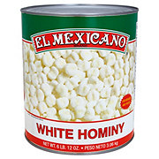 El Mexicano Mexican Style White Hominy