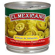 El Mexicano Nacho Sliced Jalapenos