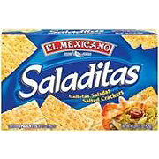 El Mexicano Saladitas Salted Crackers