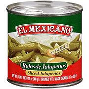 El Mexicano Sliced Jalapenos
