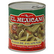El Mexicano Sliced Jalapenos Peppers in Brine
