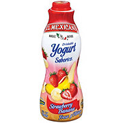 El Mexicano Strawberry and Banana Drinkable Yogurt