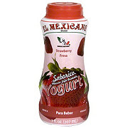 El Mexicano Strawberry DrinkableYogurt