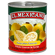 El Mexicano Whole Guavas In Syrup