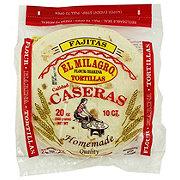 El Milagro Tortillas Homemade Flour Tortillas Fajitas Style
