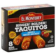 El Monterey Bigger! Bolder! Chicken & Monterey Jack Cheese Taquitos