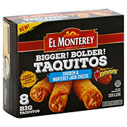El Monterey Bigger! Bolder! Chicken & Monterey Jack Cheese Taquitos