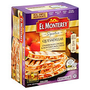 El Monterey Signature Quesadillas Charbroiled Chicken And Cheese