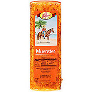 El Viajero Muenster Cheese, sold by the