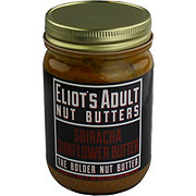 Eliot's Adult Nut Butters Sriracha Sunflower Butter