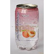 Elisha Peach Flavor Carbonated Mineral Water