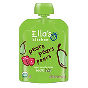 Ella's Kitchen Stage 1 Pears Pears Pears Puree