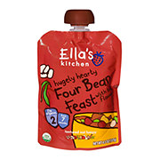 Ella's Kitchen Stage 2 Hugely Hearty Four Bean Feast with Big Flavor