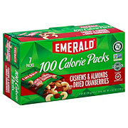Emerald Cashews & Almonds with Dried Cranberries 100 Calorie Packs
