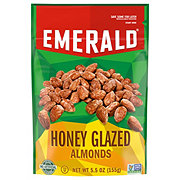 Emerald Honey Glazed Almonds