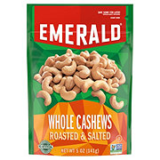 Emerald Roasted & Salted Whole Cashews