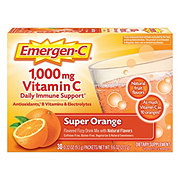 Emergen-C 1000 mg Vitamin C Super Orange Drink Mix