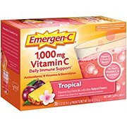 Emergen-C 1000 mg Vitamin C Tropical Flavored Fizzy Drink Mix Packets