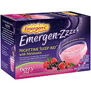 Emergen-C Emergen-Zzzz Nighttime Sleep Aid Berry PM