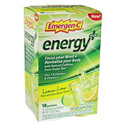 Emergen-C Energy Lemon Lime
