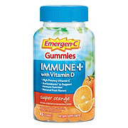 Emergen-C Gummies Immune + Vitamin D Super Orange