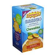 Emergen-C Immune Plus Orange Blast Chewables