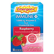 Emergen-C Immune Plus Raspberry Dietary Supplement Drink Mix